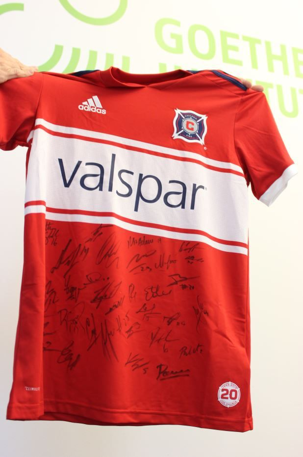 f109565bf ... this Saturday you will have a chance to win a jersey signed by the  entire  ChicagoFire team