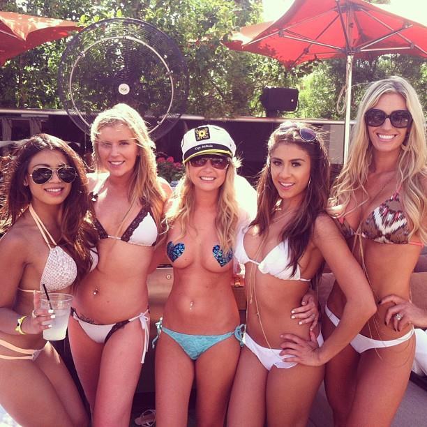 Miami beach party girls