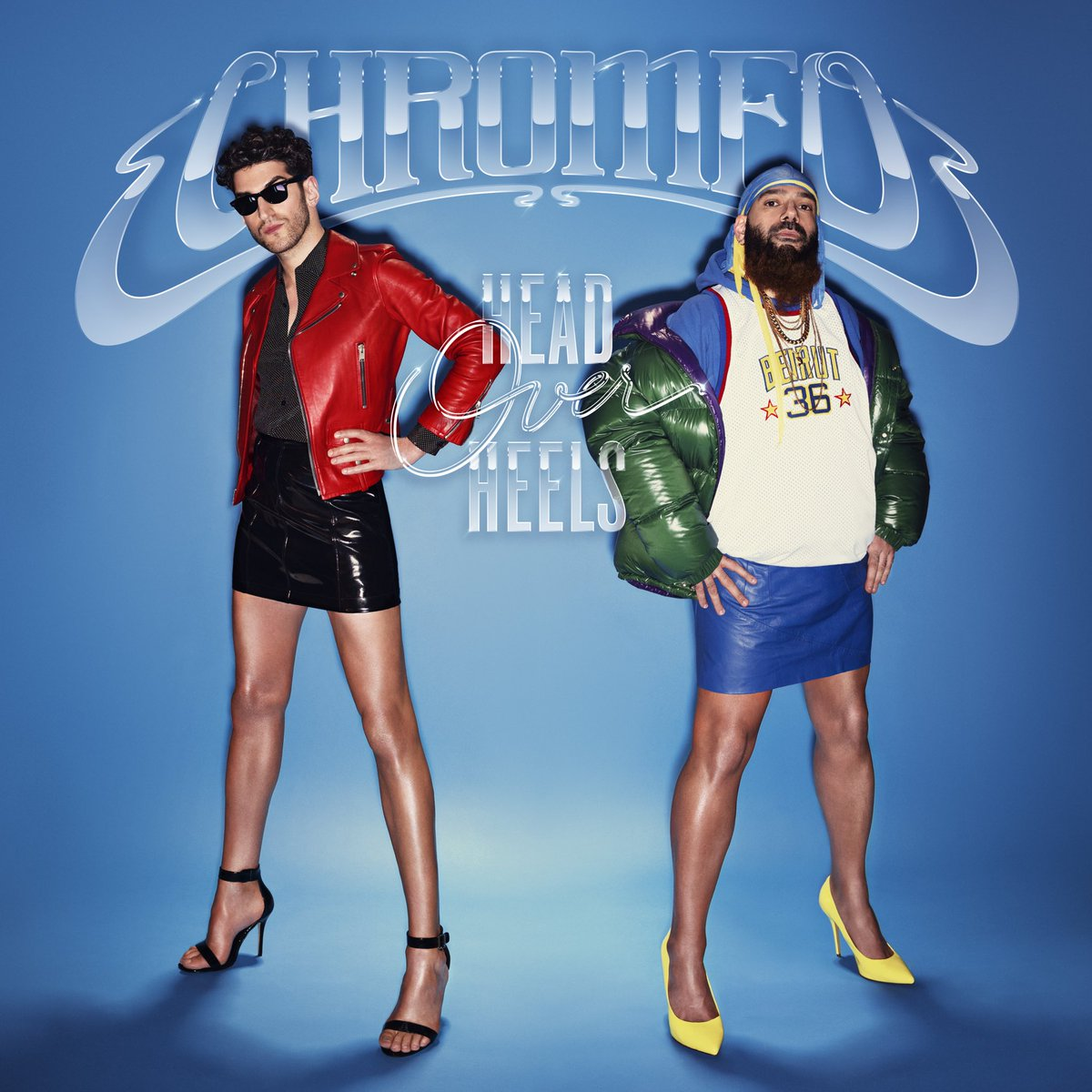 Image result for chromeo head over heels album cover