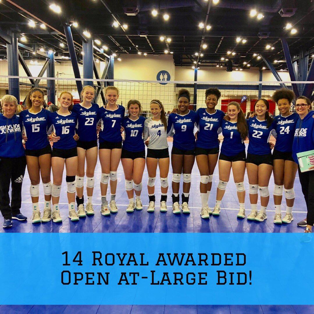 Houston Skyline On Twitter 14 Royal Receives An Open At Large Bid This Makes The Third Straight Year To Lead Or Tie The City Of Houston And Lone Star Region In Open Qualified