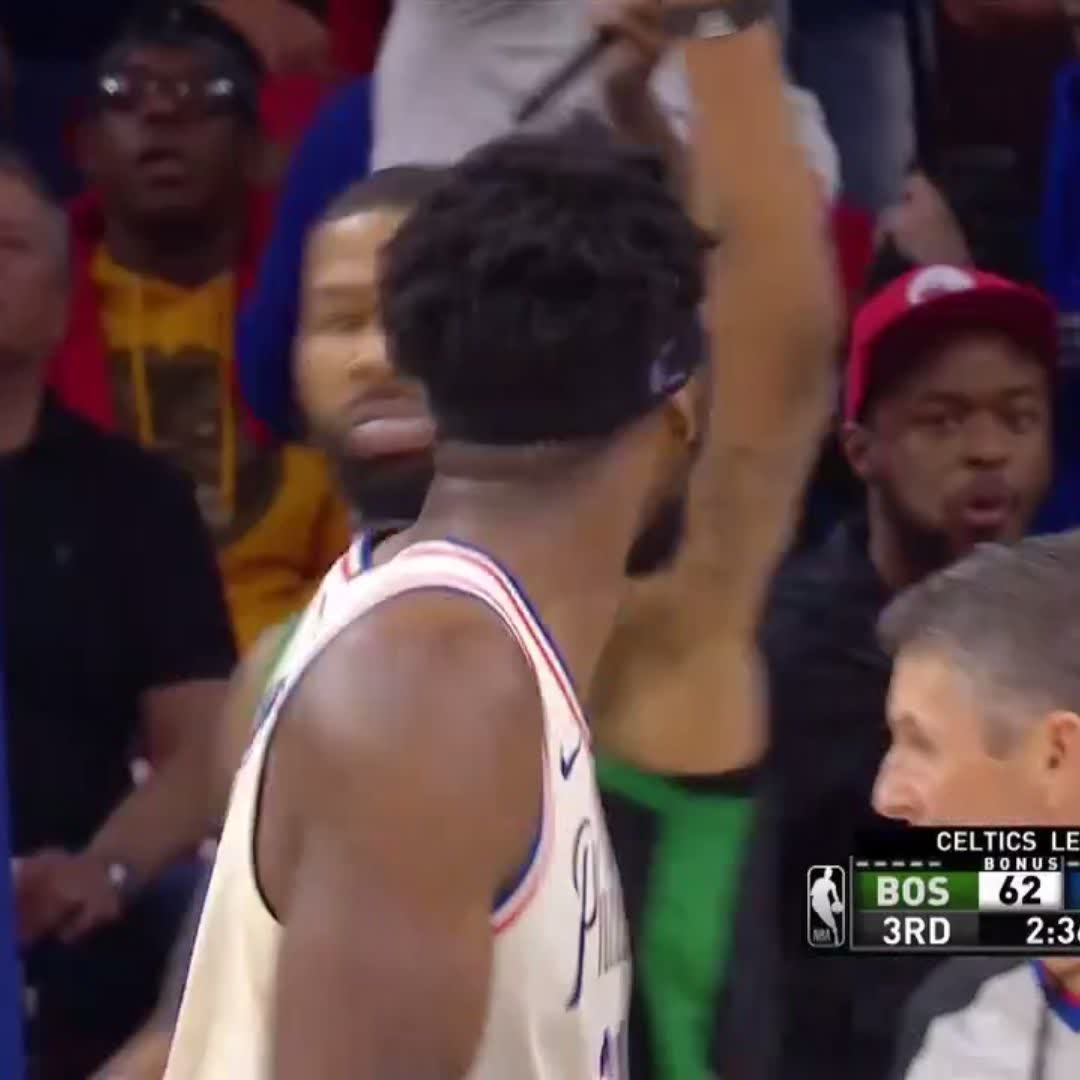 Omg Marcus Morris Reminded Joel Embiid That The Series Is