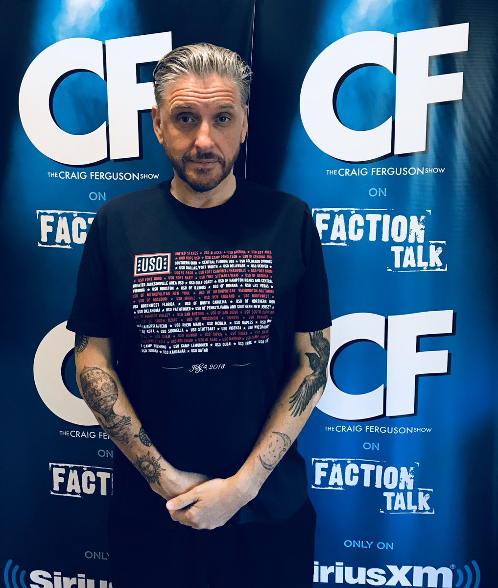 Craig Ferguson On Twitter Proud To Wear My Support Of Our