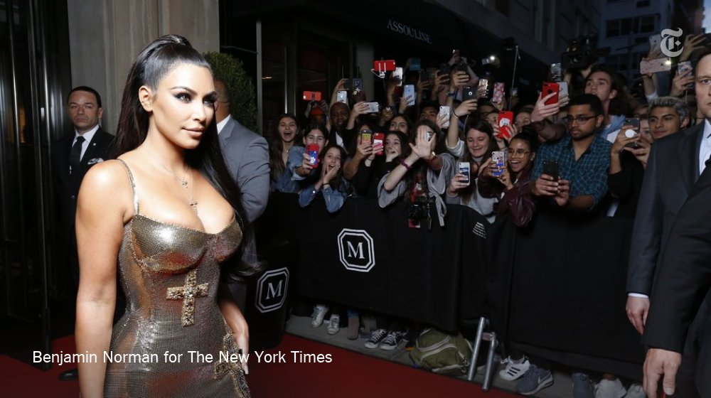 Kim Kardashian West is en route to the Met Gala. https://t.co/FjjYCZoCYl