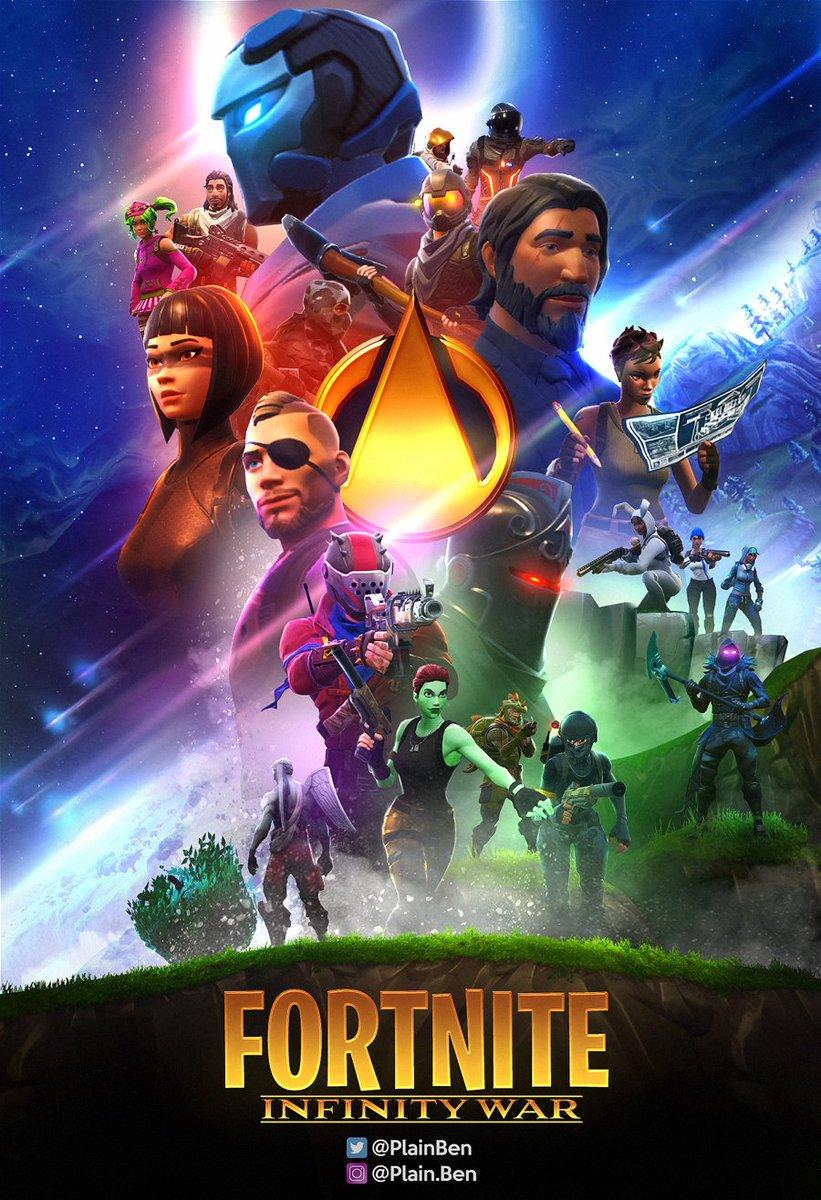 Fortnite x Infinity War Poster! @FortniteGame