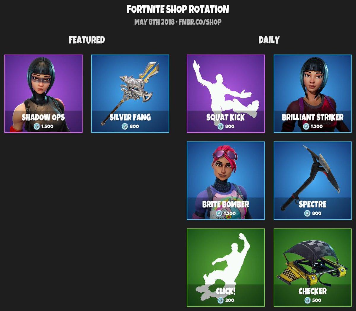 fortnite item shop news updates - fortnite item shop may 7