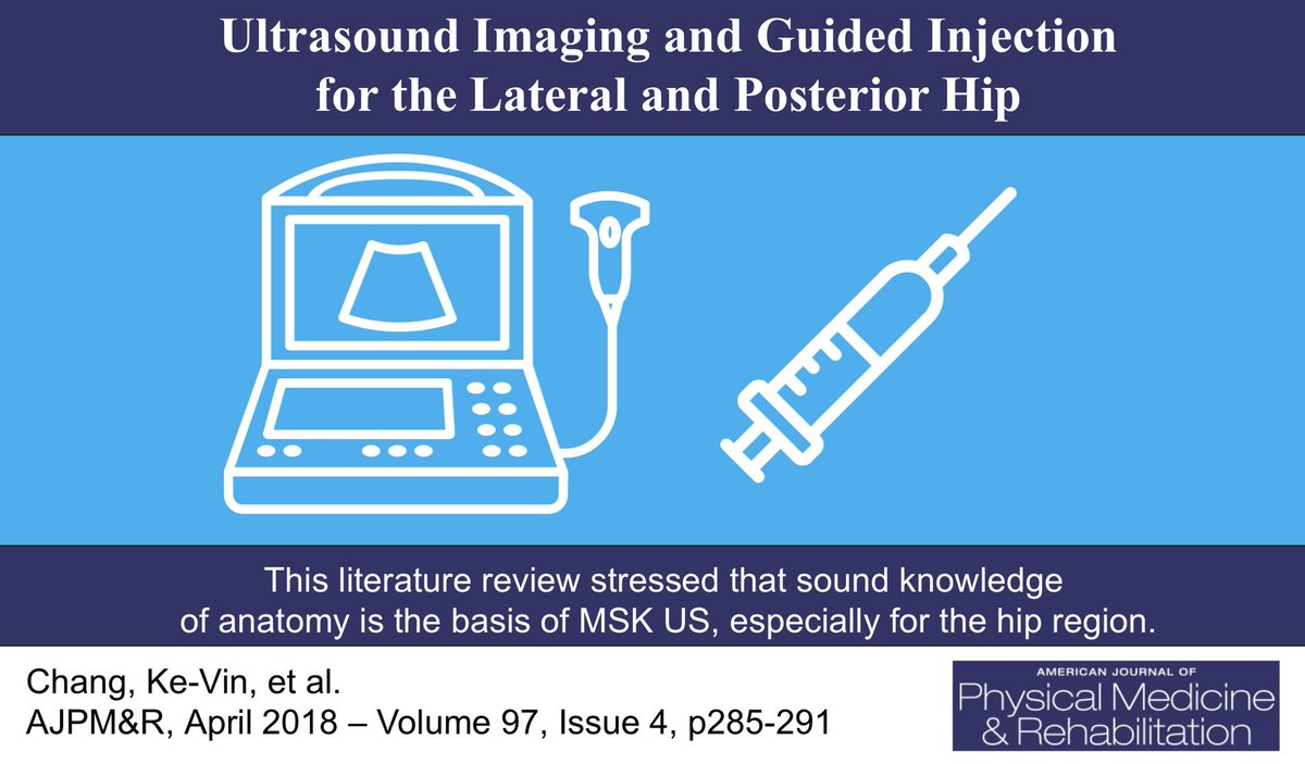 Ajpmr On Twitter Key To Proficient Musculoskeletal Ultrasound