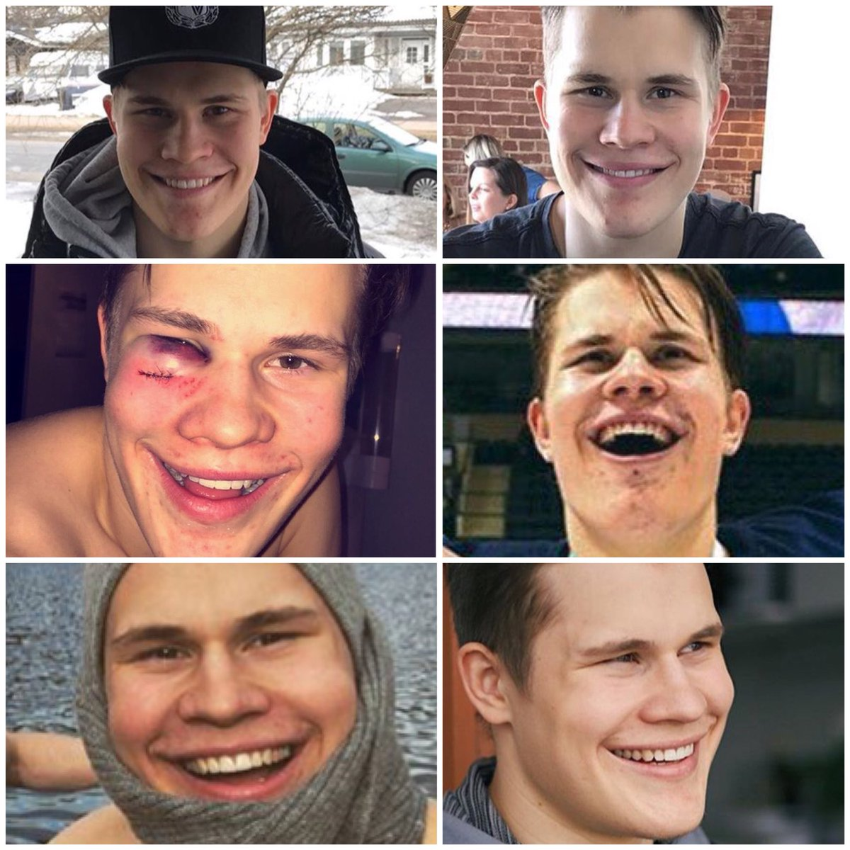 Get you a man who looks at you the way @Jpuljujarvi looks at everything.