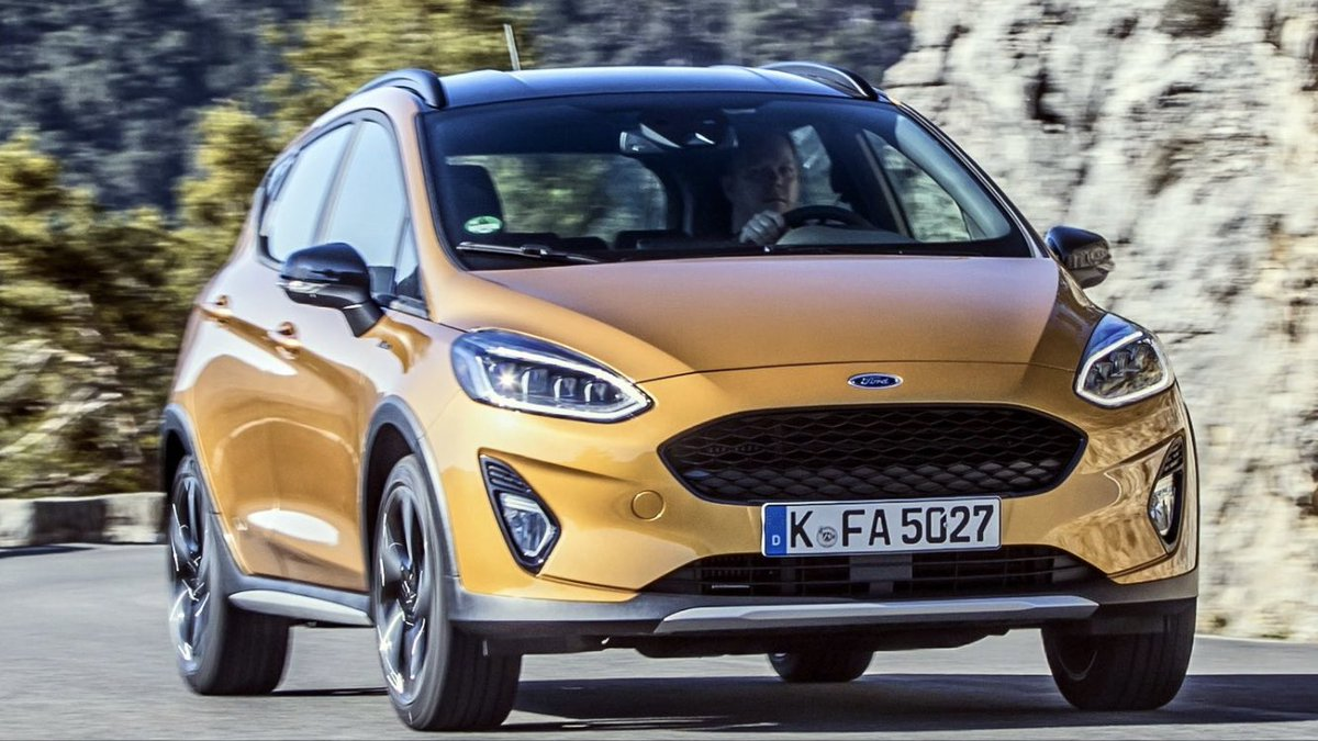 Cole Marzen On Twitter 2019 Ford Fiesta Active Launched In