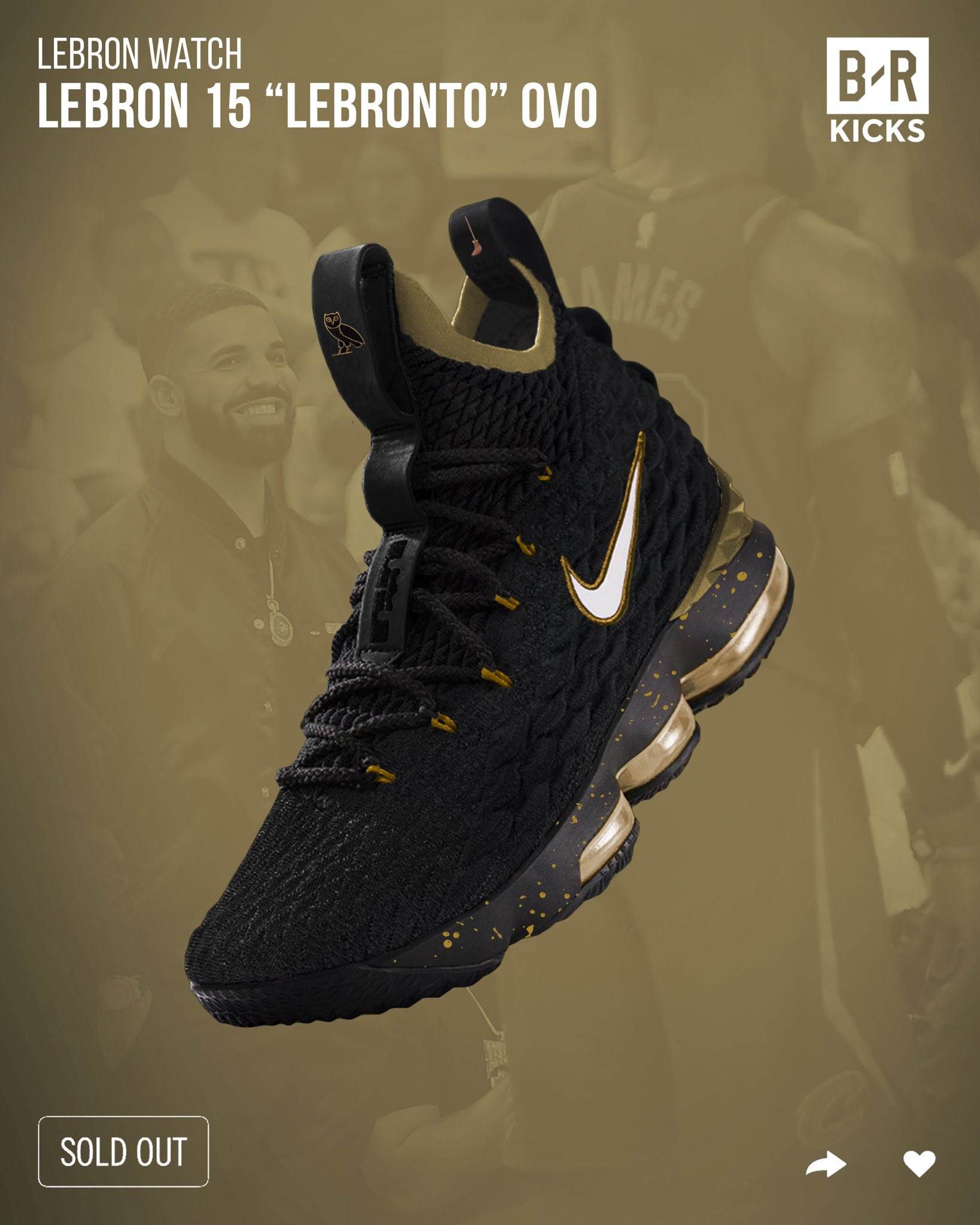 """69e022cff8655d Nike collabs with OVO to release new """"LeBronto"""" shoes"""