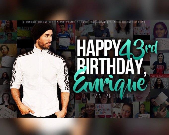 Happy Birthday, Enrique