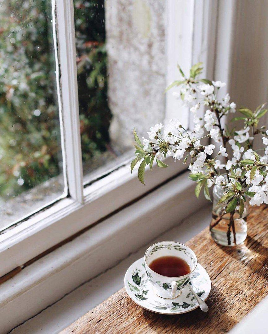 доброе утро на окне фото тоже легко