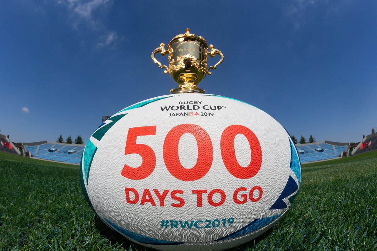 500 DAYS TO GO!!!  Excited yet?  Happiness is Egg Shaped  #Japan2019 <br>http://pic.twitter.com/pKBB3ttMts