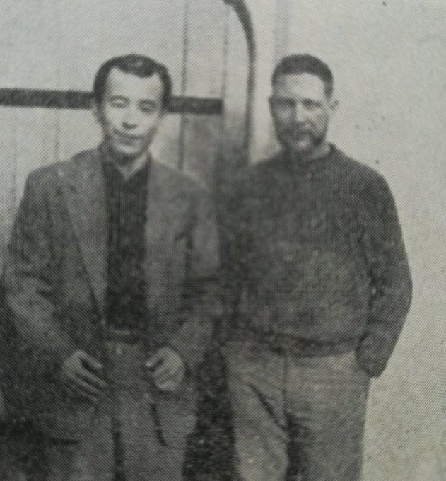 Happy birthday Gary Snyder ! (Gary and Yu Suwa, c.1963)