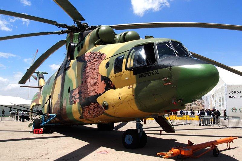الاردن يوقع صفقه لشراء 4 مروحيات Mi-26T2 من روسيا  Dcq-OCpW4AArvDr