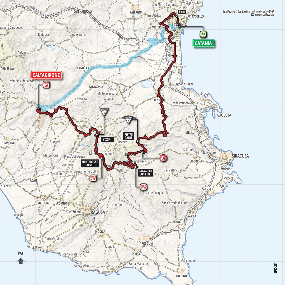 Basic Map Of Italy.Lotto Soudal On Twitter Buongiorno Today Is The First Stage