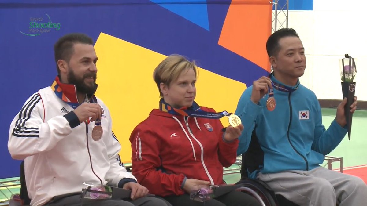 Huge Congrats to @mattskelhon who wins silver in R3 10m Air Rifle - GB's first individual medal at the @ShootingPara World Championships in Cheongju. #Cheongju2018 - Watch it here: https://t.co/LCr8ZTOGtm https://t.co/GrxLhPsSaS