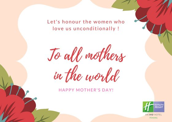 Mother's Day A multi-tasker as she lays food on the table while she works hard at work. A great mother as she will never think twice to stand by her babies. Book a stay for your mum at https://t.co/YnRtcQLCYP…/stay-ahead #MothersDayPenang2018 #JoyOfTravel #HolidayInnResortPenang https://t.co/dlmpzuotuA