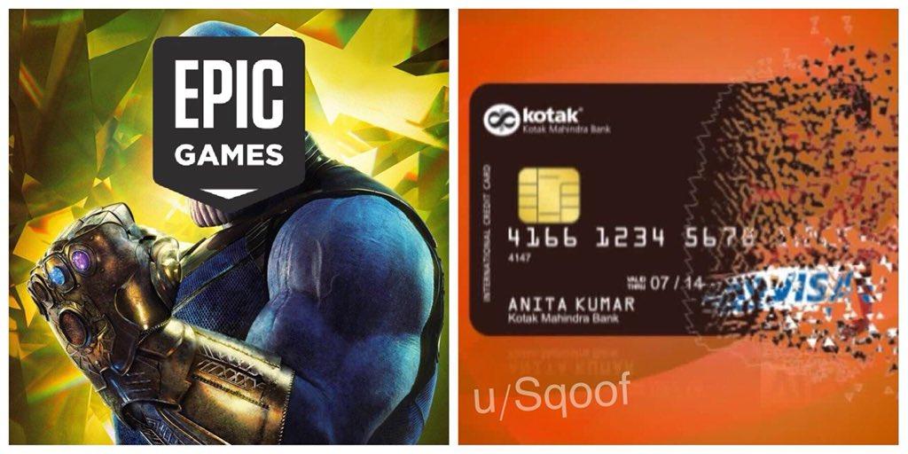 Fortnite Memes Daily On Twitter Like For Thanos Skin