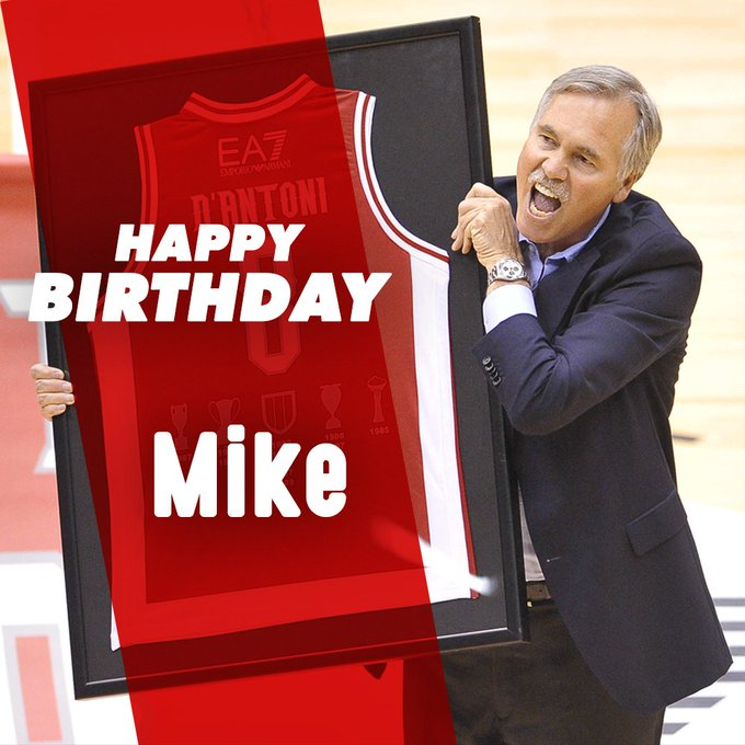 Happy Birthday to the Number 8, the Only and Incomparable Mike D\Antoni!