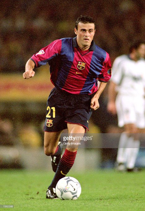 Happy birthday Luis Enrique(born 8.5.1970)