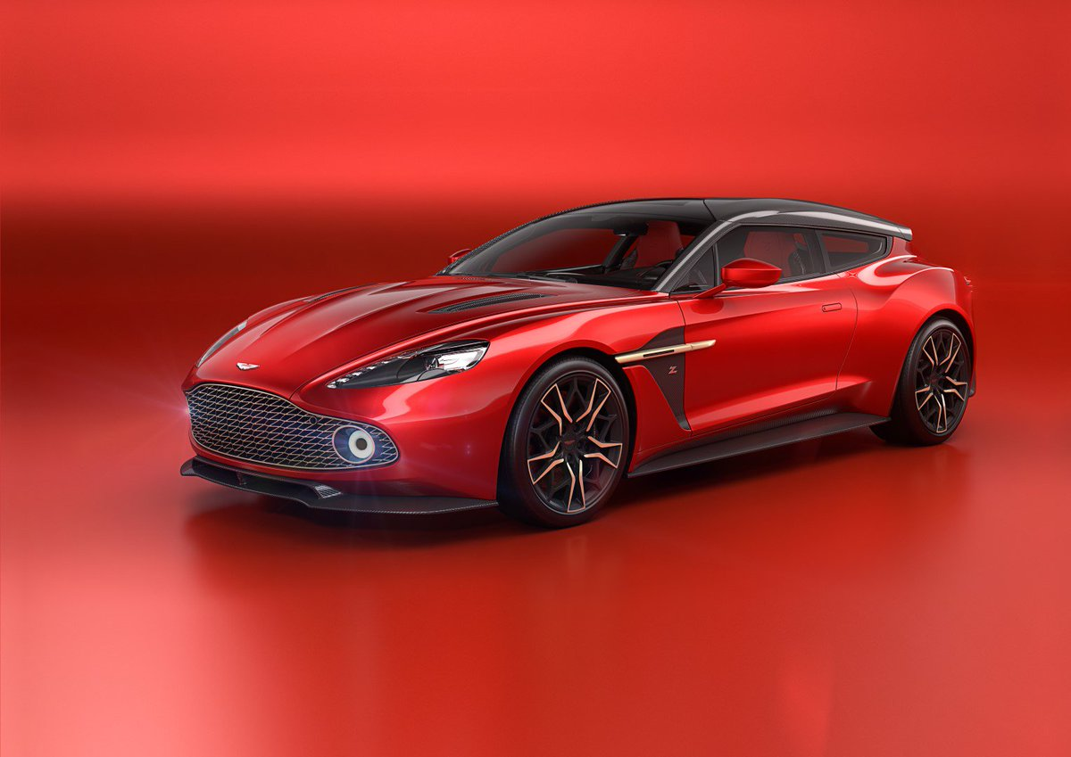 The Exceptional Vanquish Zagato Shooting Brake Will Be Rarest Of Rare