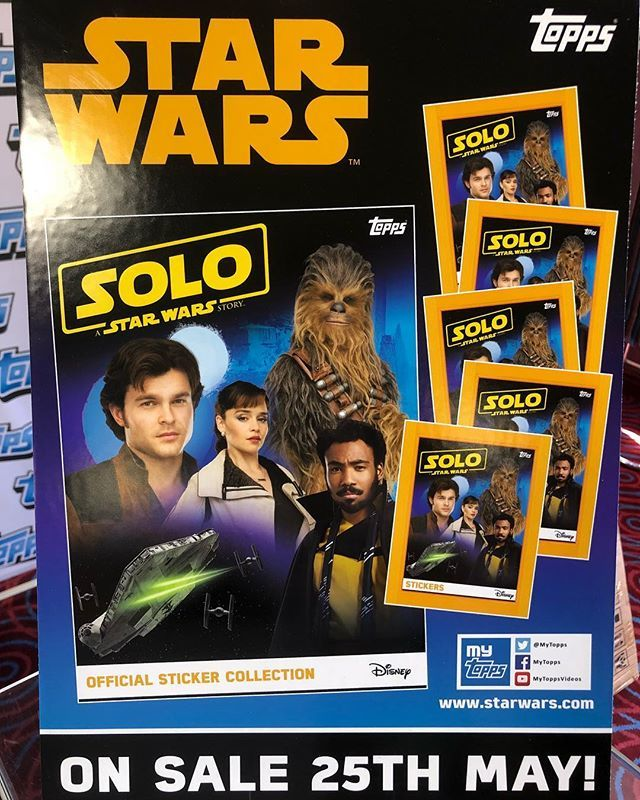 Topps-a Star Wars Story-solo-sticker 175