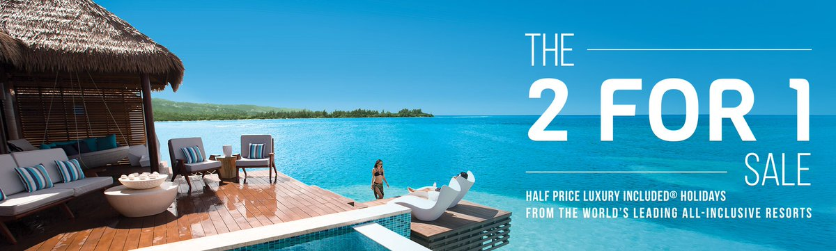 515049cb1b29 The Sandals   Beaches 2 for 1 Sale is finally back at  VirginHolidays  through to 22 May 2018. Pop in to  houseoffraser  Solihull to get you there!