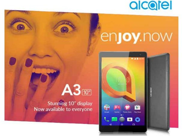 Alcatel A3 10 32GB launched with 8+5 Megapixel Camera, Buy from Flipkart