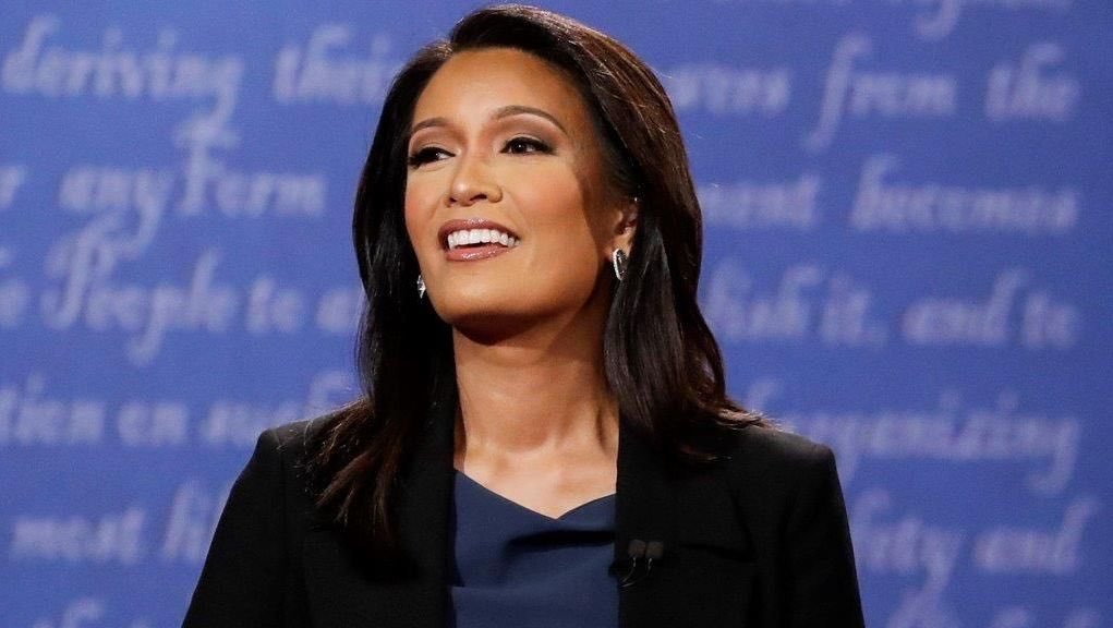 ... news anchor for CBS & the 1st Asian American to moderate a debate for a  U.S. elected office in the general election (2016 vice presidential debate).