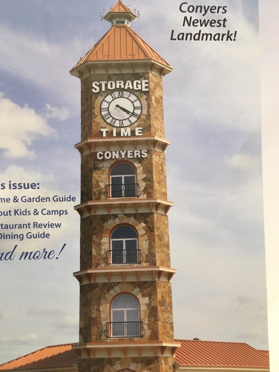 Charmant ... With A 4 Story Clock Tower (a Project That Has Seemingly Taken Longer  To Complete Than The Sagrada Familia) Is Described As U201cConyers Newest  Landmark!