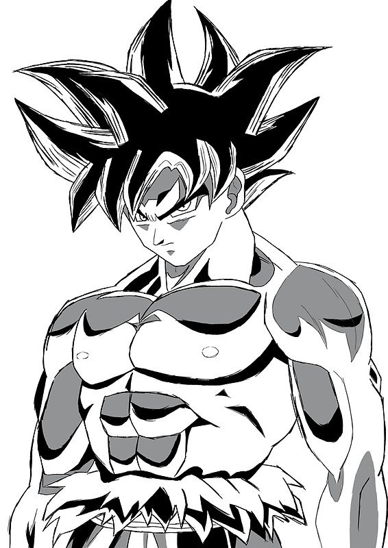 Govetaxv On Twitter Quot Toyotaro S Sketch Of Ultra Instinct
