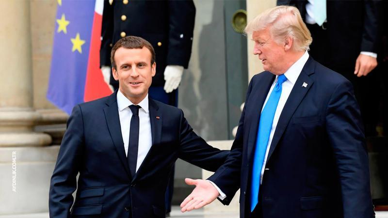 Trump, Macron'a İran nükleer anlaşmasından çekileceğini söyledi https://t.co/PCHBcElPMr https://t.co/tWTXU8w8fx