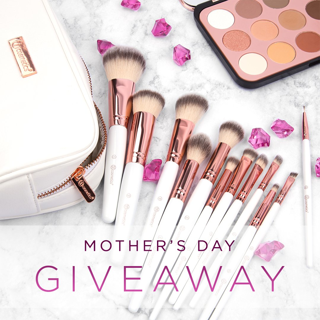 🌺🌷💐 We've got an ultra-special #BHBeautySecret - it's a Mother's Day GIVEAWAY!💖 One winner will get a $100 shopping spree to BH Cosmetics - shop for mom or someone else you care about! Just RT this tweet & follow us for a chance to win! Enter as many times as you like!✨