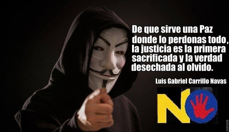 """#mañanasBlu """" De que Sirve una paz donde lo perdonas todo, la justicia es la primera sacrificada y la verdad desechada al olvido"""" Luis Gabriel Carrillo Navas @davidCalonge3 @lacoutu @Yohana_Ib @Karen_Milestki @DELAESPRIELLAE @CancinoAbog @TimoFARC @JurisdiccPaz @indignada2016 https://t.co/81TCfPu6PT"""