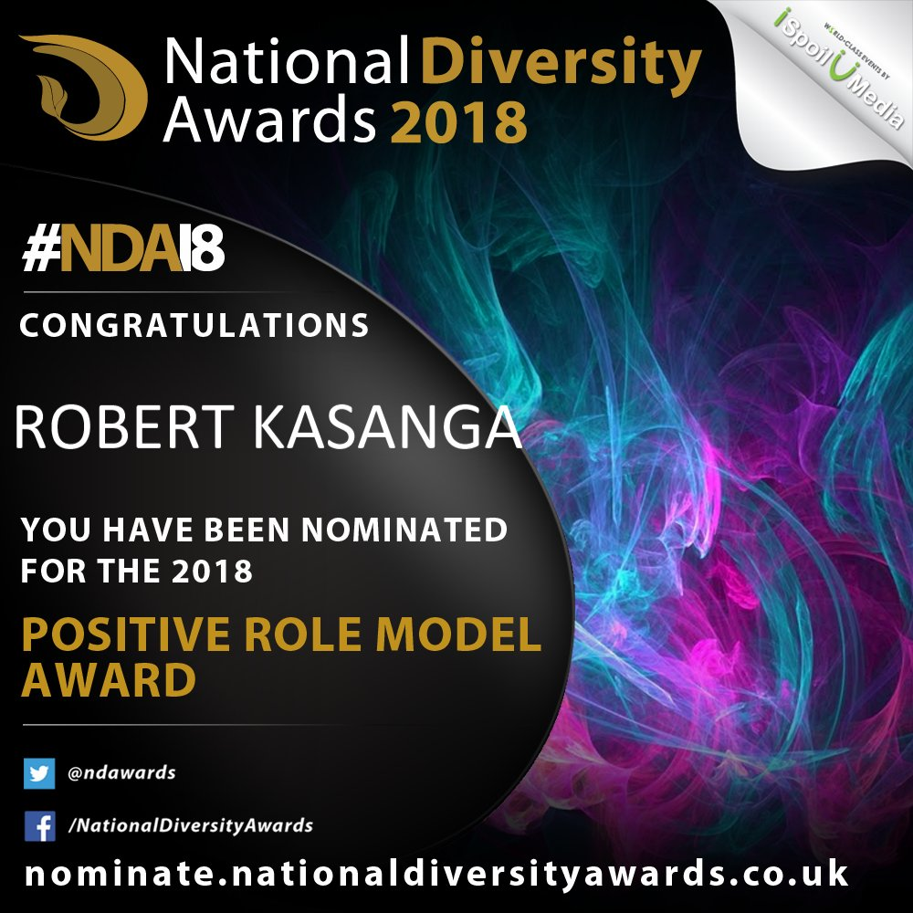 diversity awards on twitter congratulations to you robertkasanga