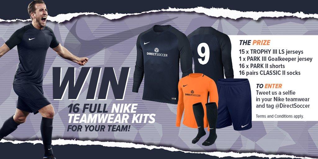 5cd33b460fe2 More info and T Cs here  https   www.directsoccer.co.uk static social   Teamwear  Football  Nike  Kit  Prizepic.twitter.com 2lB2aNh3vw