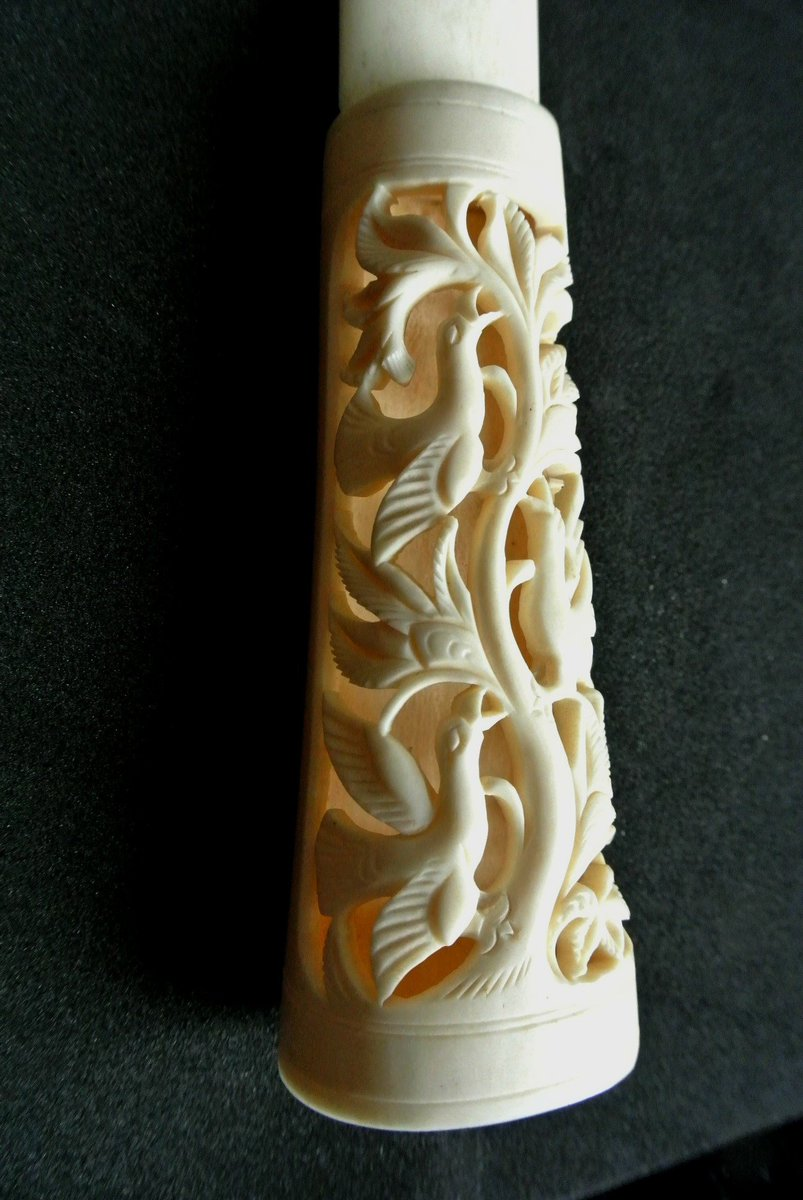 Lori Pickail On Twitter Excited To Share The Latest Addition To My Etsy Shop Antique Victorian Hand Carved Bone Letter Opener Birds In A Tree Collectible Desk Ornament Letter Knife Https T Co 2tjlwyp9mx Vintage