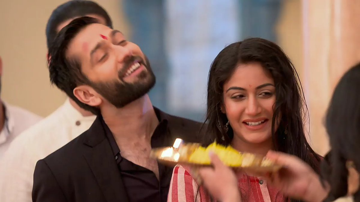 God's in his heaven ,all's right with Shivika's world