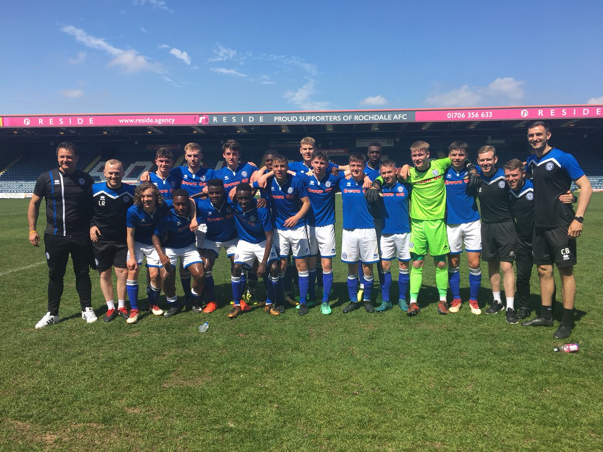 🎉 Your North West Youth Alliance League Champions 👏 #RAFC