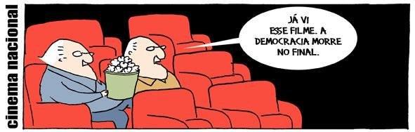 Resultado de imagem para já vi esse filme a democracia morre no final