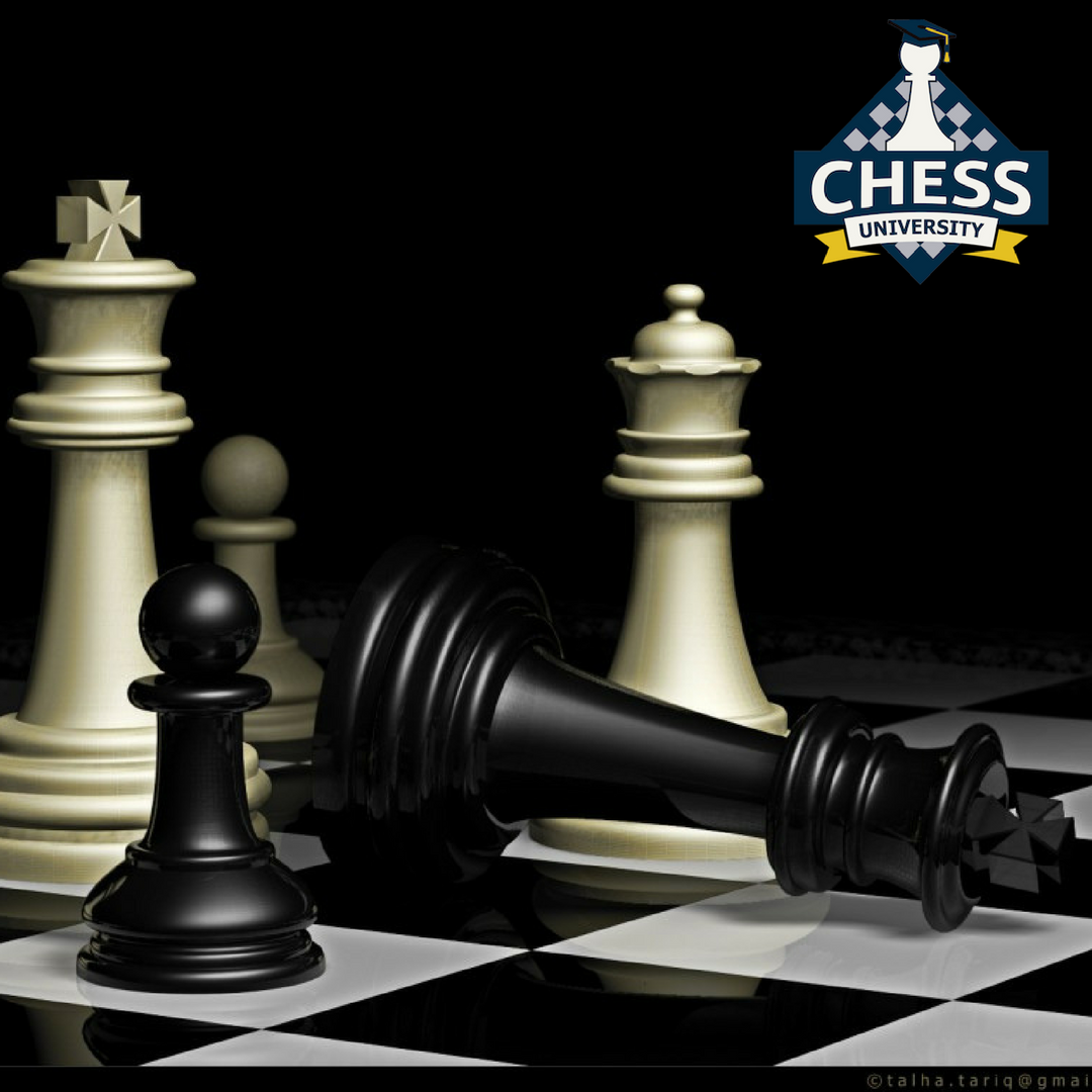"""Always think twice before making a pawn move. Since pawns cannot move backward, it is very hard to fix """"pawn weaknesses"""". #ChessUniversityOnline #LearnChess #KairavJoshi #Chesstips #ChessLife #mindgame #boardgame #tips"""