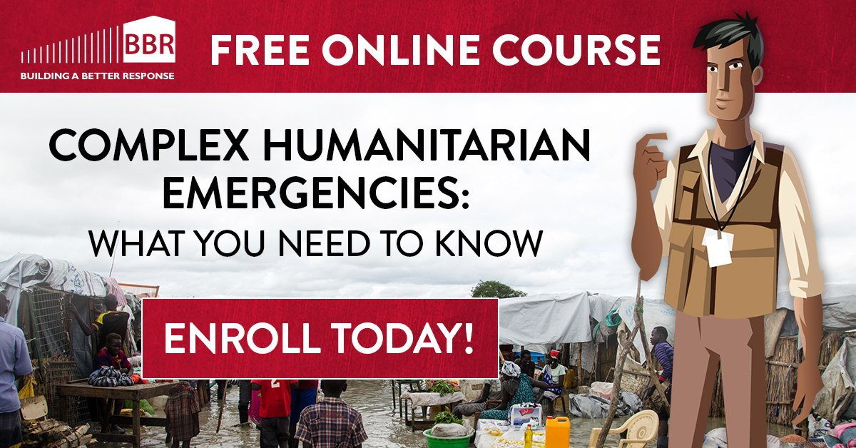 Bbr On Twitter Our Latest Unit On Complex Humanitarian