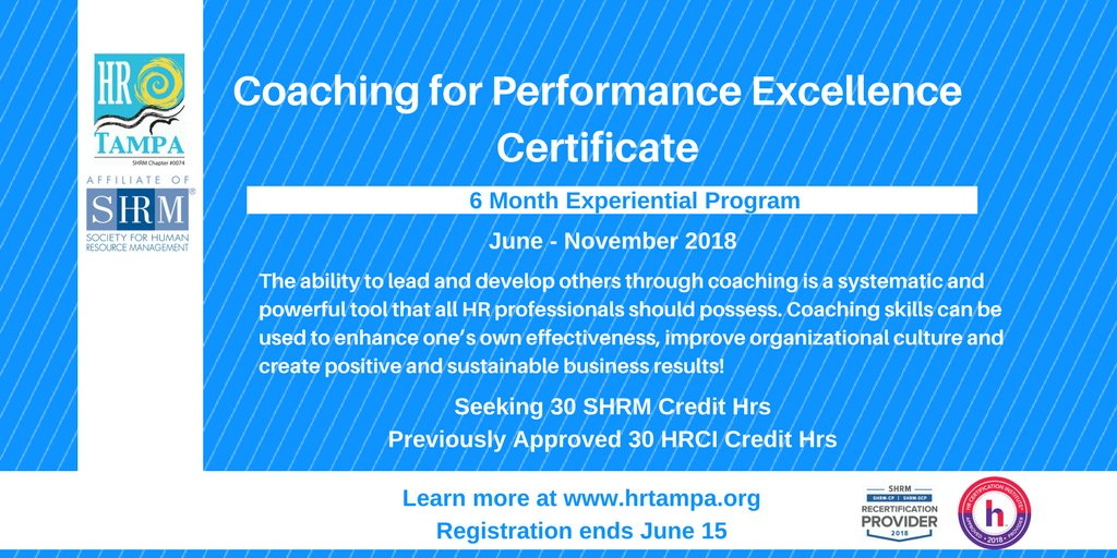 Hr Tampa On Twitter Opportunity To Advance Your Profession