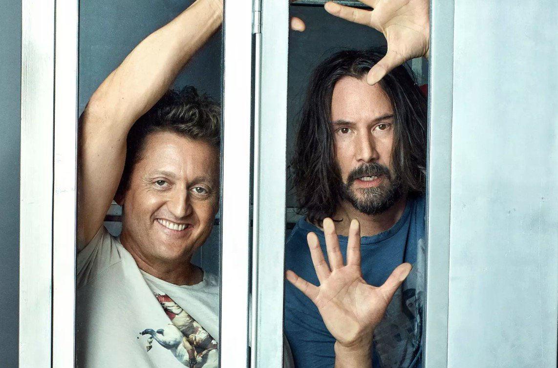Excellent news, the third Bill & Ted film is finally happening https://t.co/kEXIiJga5g