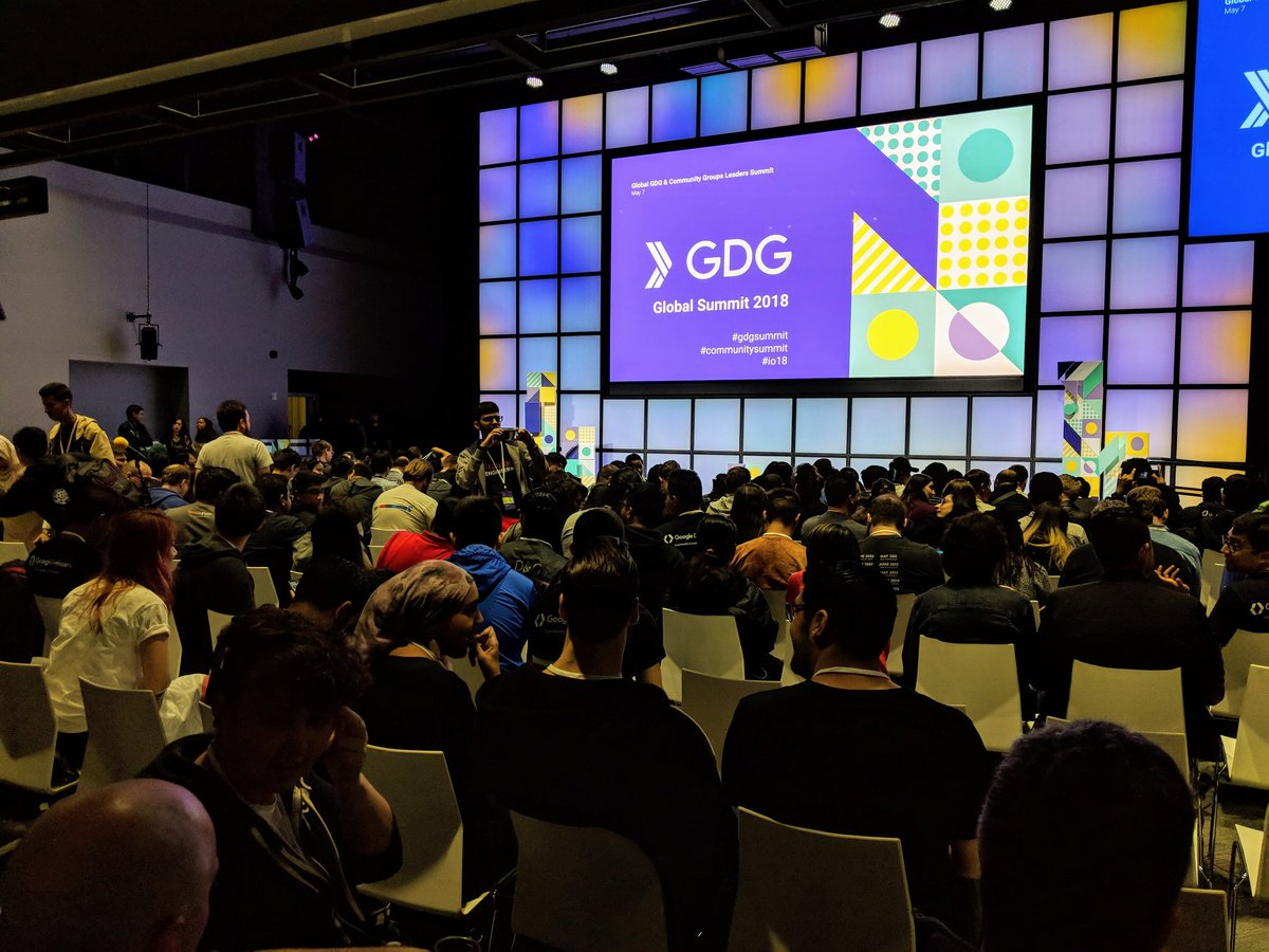 Had a great Global @GDG Summit (and dinner party) this year. Really liked the venue and how it was customized for the event 👍 Loved the content! 🗨 As always, met lots of awesome people 👥 #GDGSummit #io18