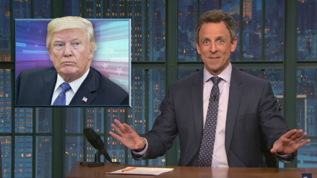 Seth Meyers: Trump wanted me to publicly apologize for making fun of him https://t.co/jpUnEl38eh https://t.co/fcFFF0QaLn