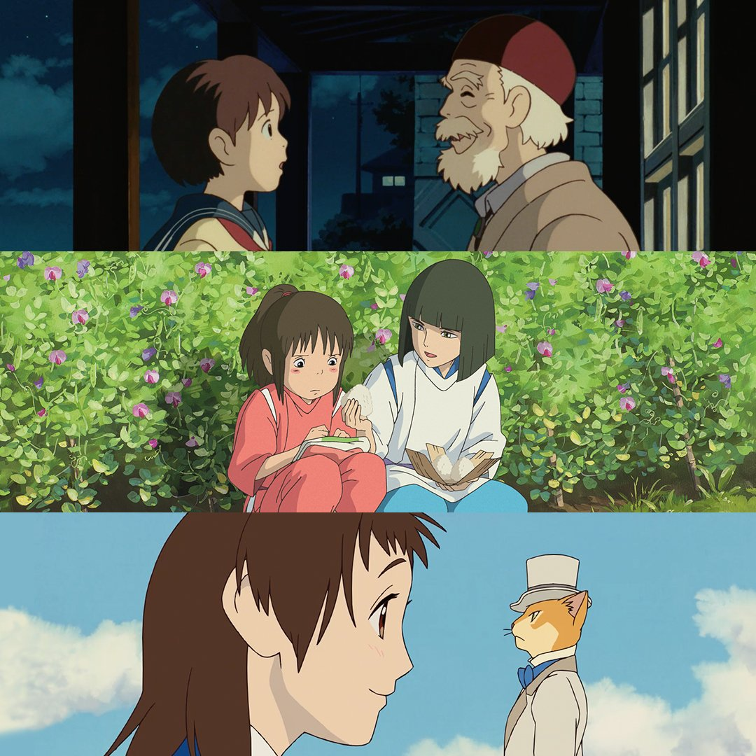 Happy Teacher&#39;s Day! Thank you to the teachers that believe in us, support us, and help us learn more about ourselves. Can you name all the Ghibli teachers? #WhisperOfTheHeart #SpiritedAway #TheCatReturns #GhibliFest<br>http://pic.twitter.com/ZRGM3CVOnv