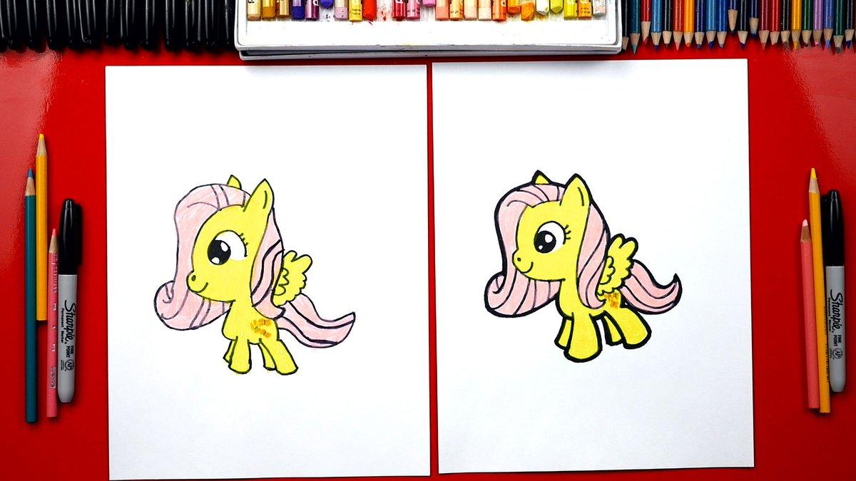Art For Kids Hub On Twitter Draw Fluttershy Https T Co Ms0hrizxa8