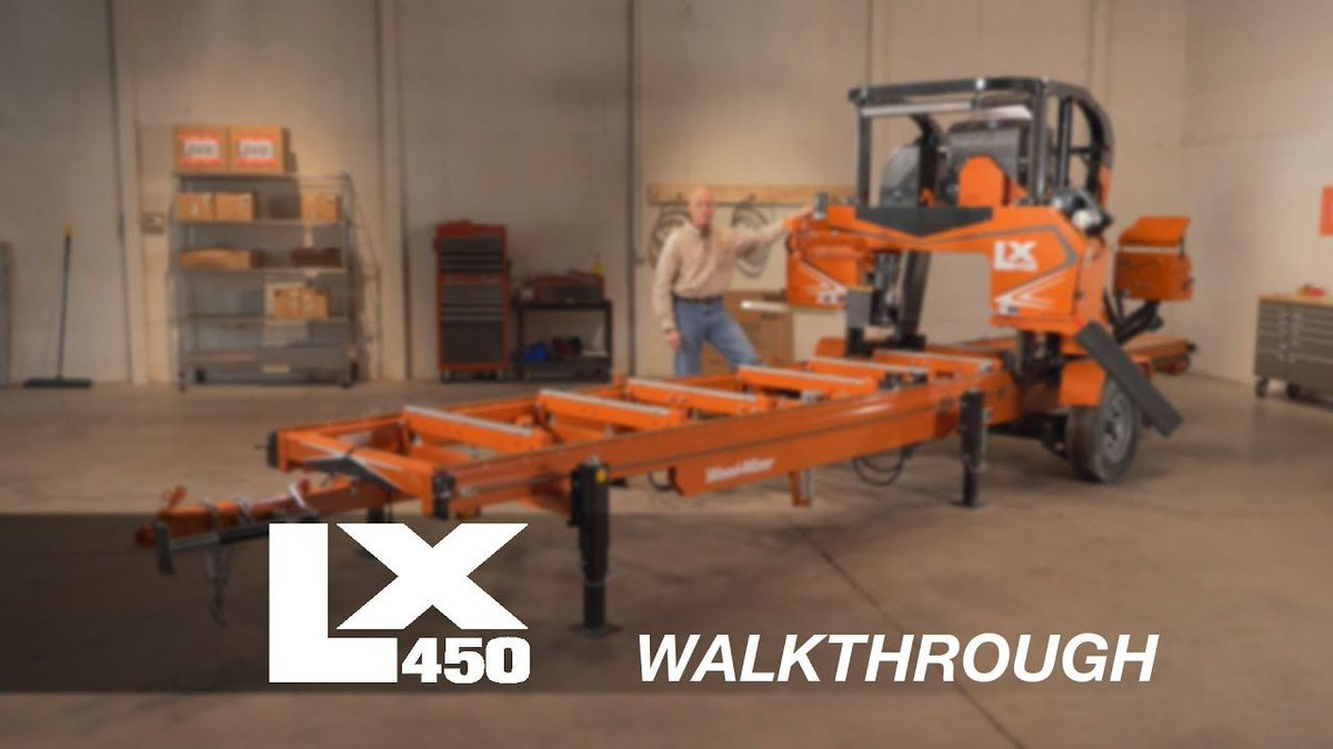 NEW VIDEO! LX450 Twin Rail Portable Sawmill Walkthrough: https://buff.ly/2K367Pq Let us know what you think!  #woodmizer #sawmill #woodworking #woodwork #sawyer #lumber #lx450 pic.twitter.com/AMpUTt1zjz