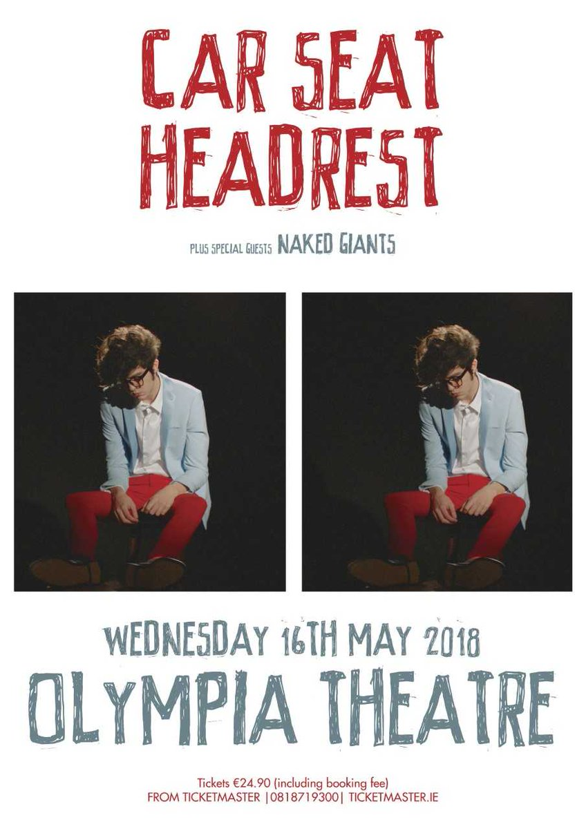 MCD Productions On Twitter Next Wednesday Car Seat Headrest Special Guest Naked Giants Olympia Theatre May 16th